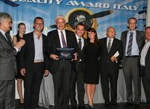 Alha riceve da Anama il premio come miglior Handling Agent in Italia