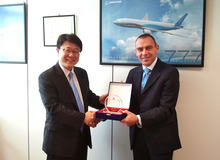 Alha Milan MXP awarded by Korean Air
