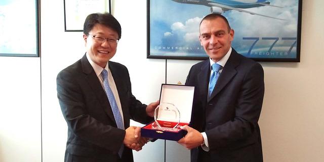 Alha Malpensa premiata da Korean Air