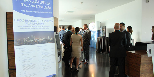 First  TAPA EMEA Regional Conference Italy