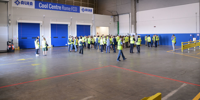 A brand new Cargo Terminal in Rome Fiumicino