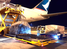 Introducing new ramp handling services for Cathay Pacific in Milan Malpensa